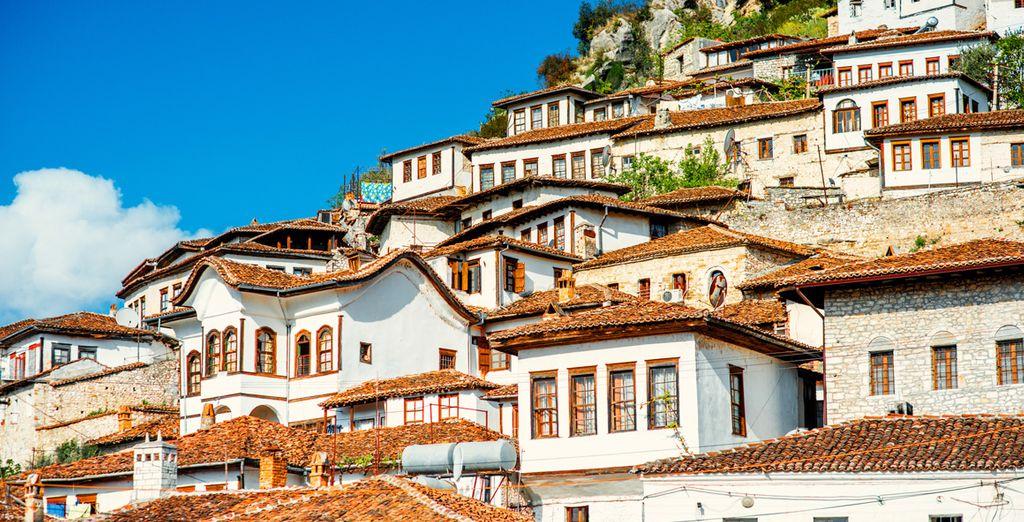 Photographie de villes faisant partie du patrimoine mondial de l'UNESCO