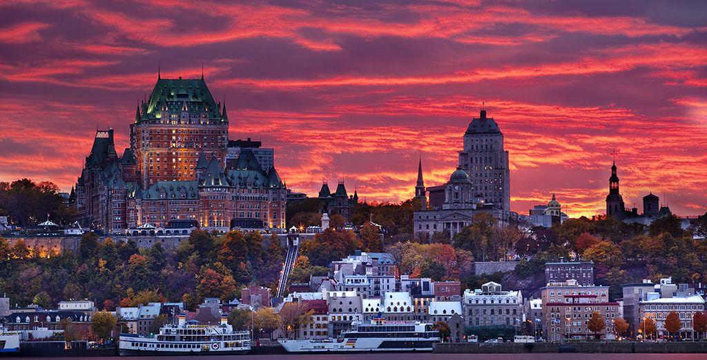 Photographie de la ville du Québec au Canada