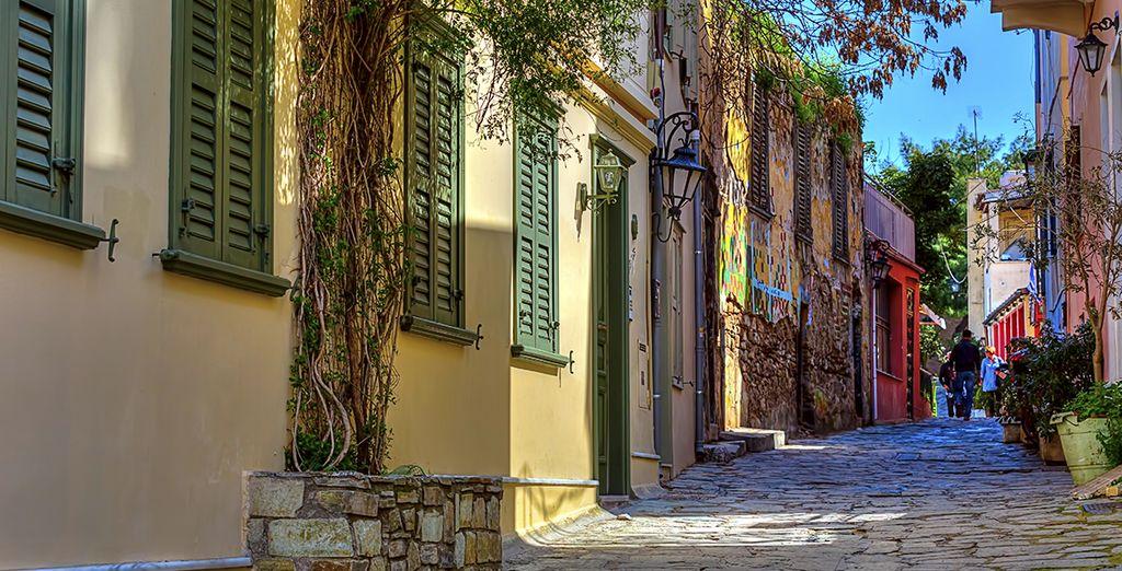 Vous serez charmé par les ruelles de sa vieille ville...