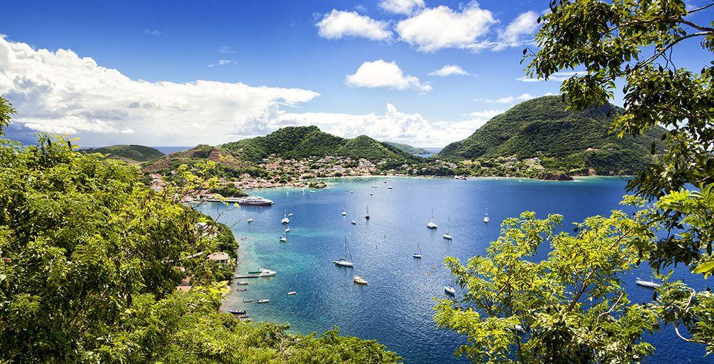 Autotour Combiné Guadeloupe et Les Saintes