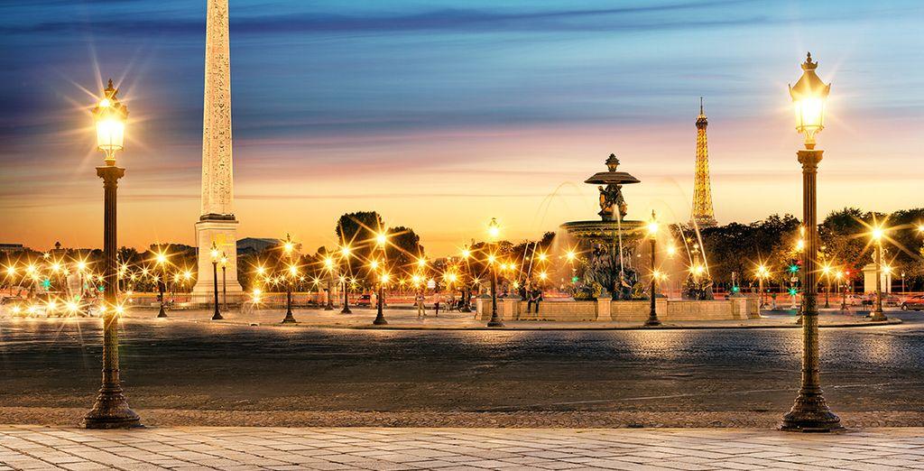 Sans oublier d'immortaliser les beautés de la Ville Lumière !