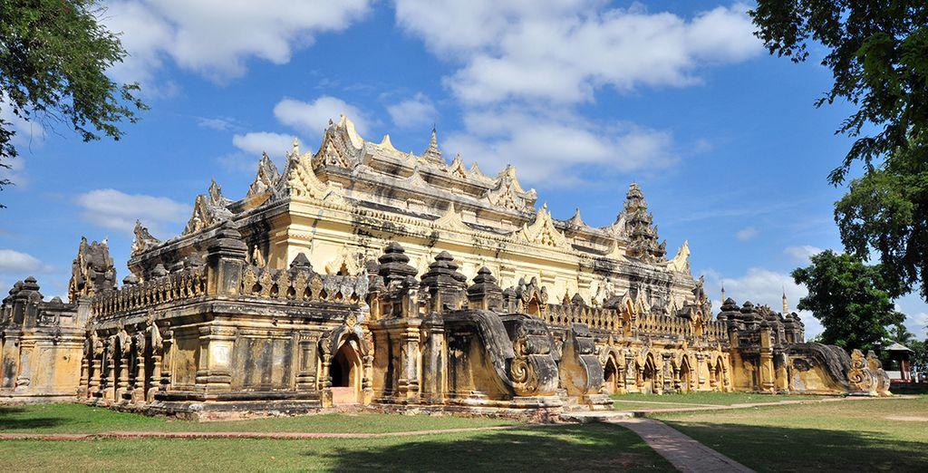 Ava et son ancien monastère