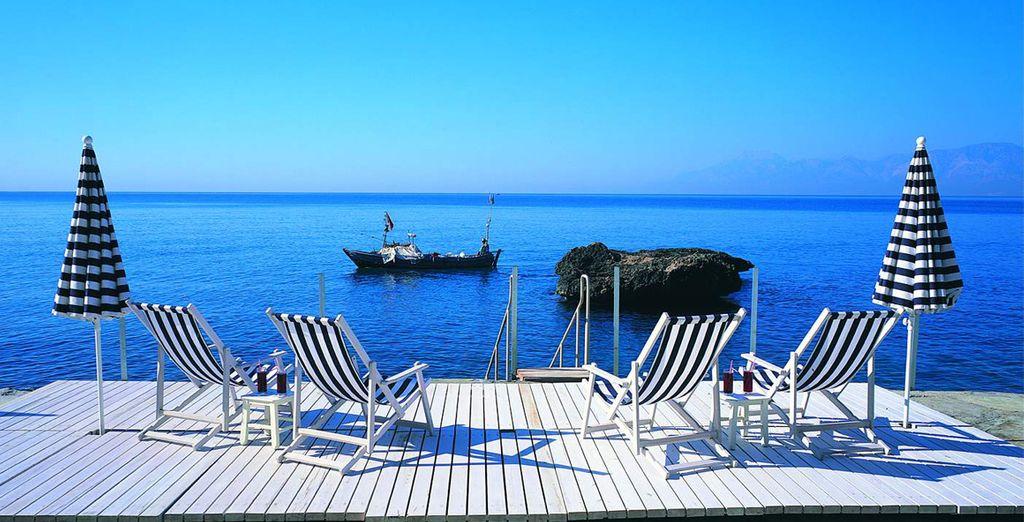 Venez vous détendre sur le bord de la Méditerranné