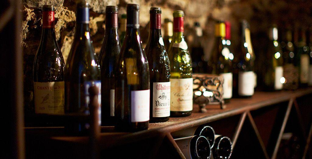 Craquez pour l'offre Dégustation de Vin