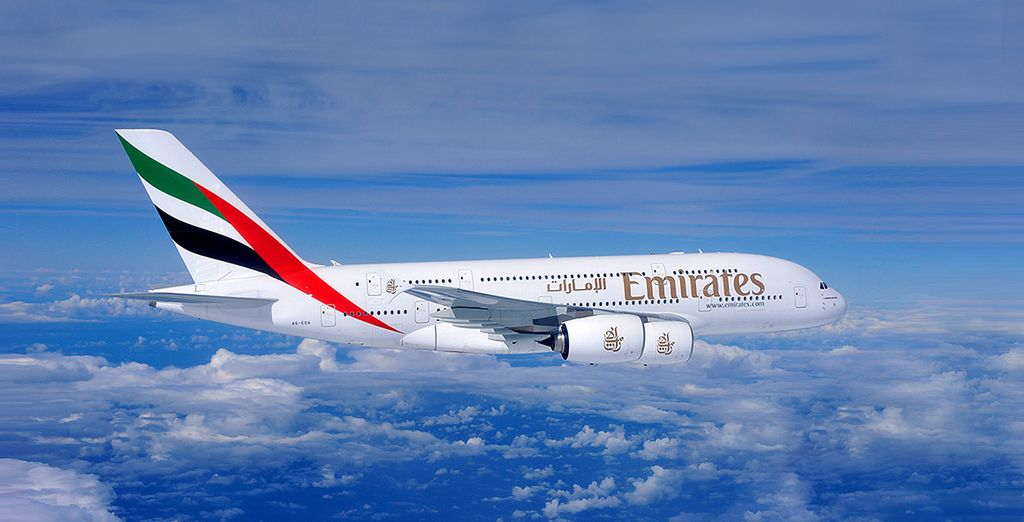 En option, laissez-vous tenter par la classe Affaires de la compagnie Emirates