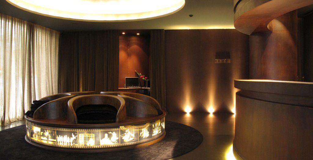 Un hôtel design au décor insolite