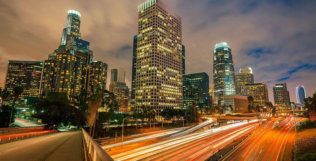 Sans oublier la Cité des Anges, Los Angeles