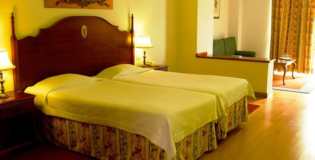Installez-vous confortablement dans votre chambre Standard avec balcon