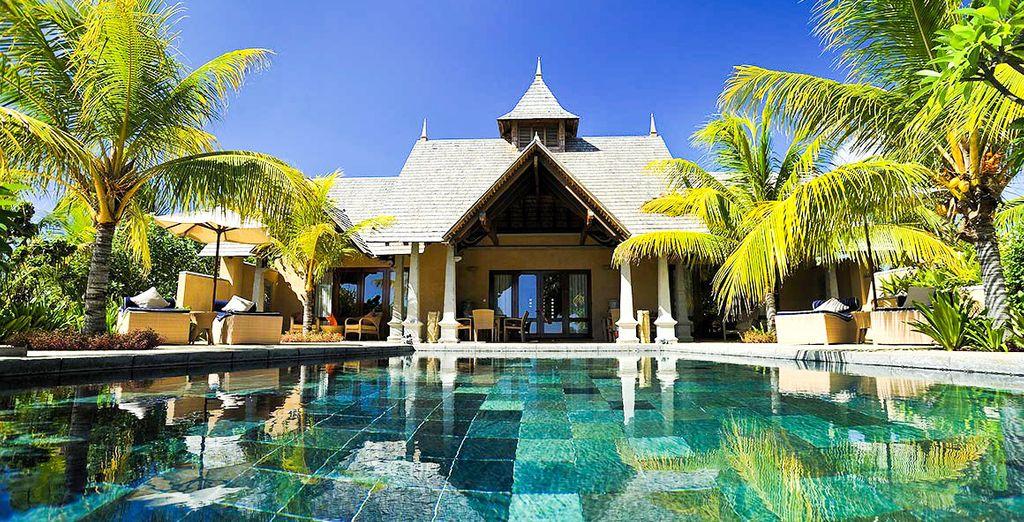 Bienvenue chez vous au Maradiva Villas Resort & Spa - Maradiva Villas Resort et Spa 5* et séjour possible à Dubai Flic-en-Flac