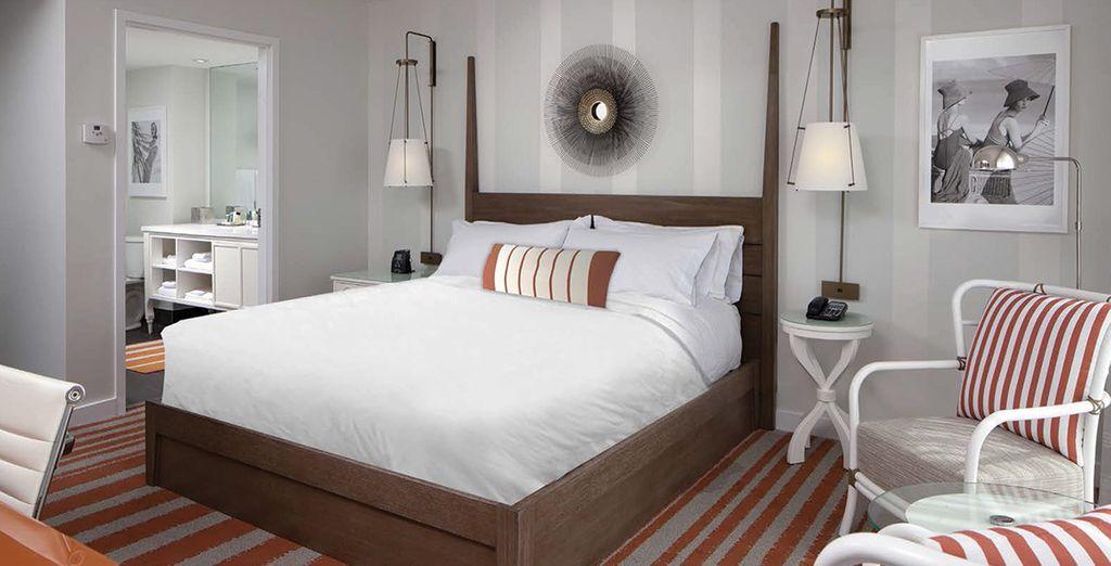 Hôtel de luxe 4 étoiles avec chambre double tout confort au cœur de la Floride