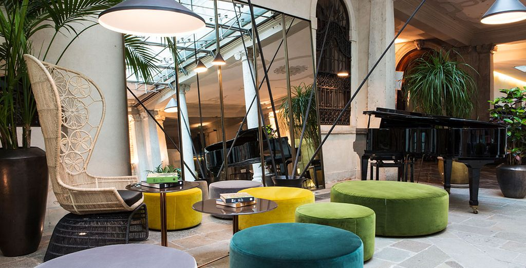 L'hôtel Monaco & Grand Canal 4*...