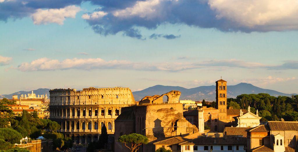 Et Rome vous éblouira... Avant de vous laisser rentrer...