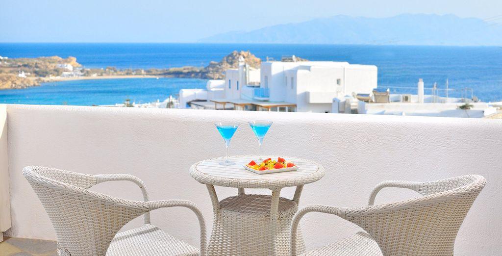 Pour profiter dès le réveil de vues sur la mer en prenant votre petit-déjeuner