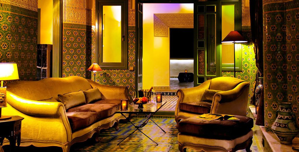 Rendez-ce séjour inoubliable avec la Suite Royale, un espace immense de 160 m²