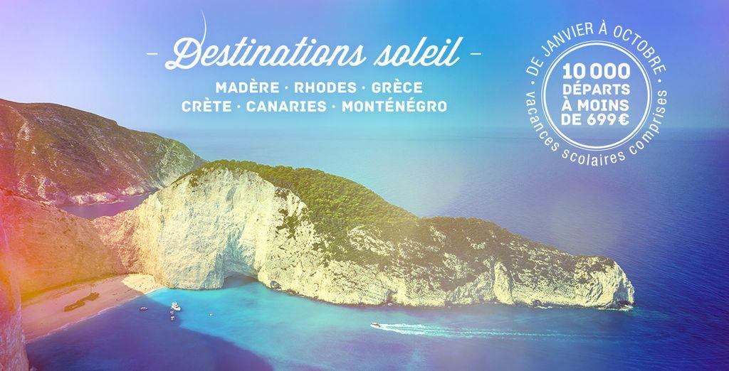 Réservez vite vos prochaines vacances !