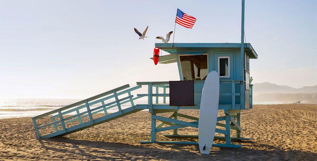 Ou encore les plages de Santa Monica... Alors... Heureux ?
