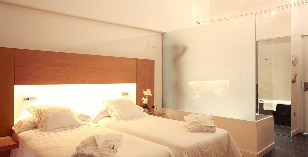 Alors installez-vous confortablement dans votre chambre standard