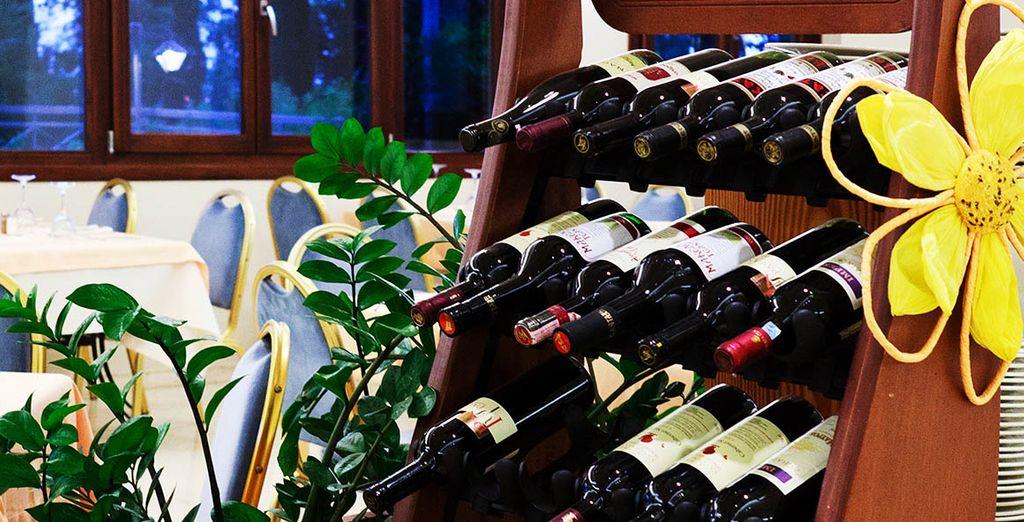 Et l'incroyable sélection de vins du restaurant !