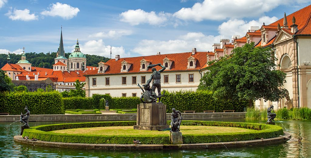 Bienvenue à Prague - Hôtel Plaza Alta 4* Prague