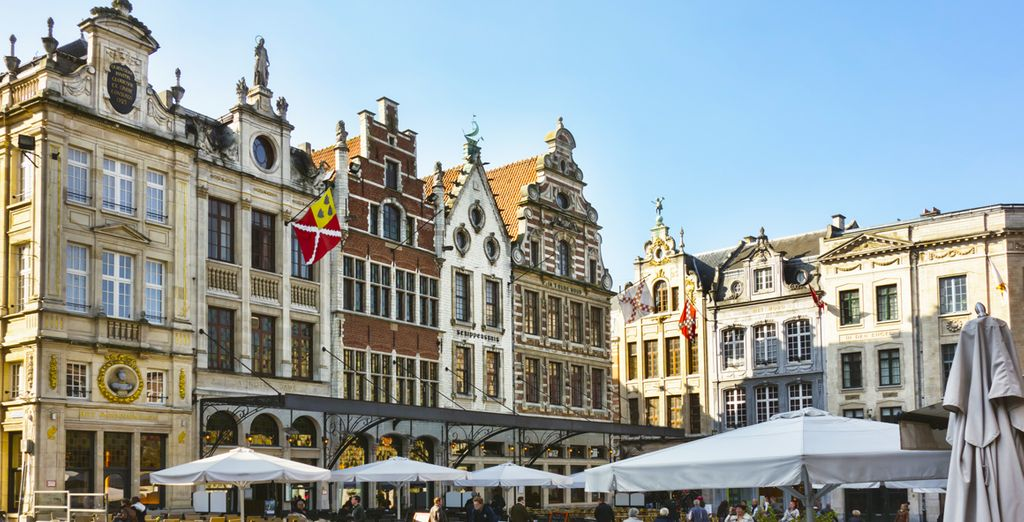 Partez ensuite à la découverte de la ville de Leuven...