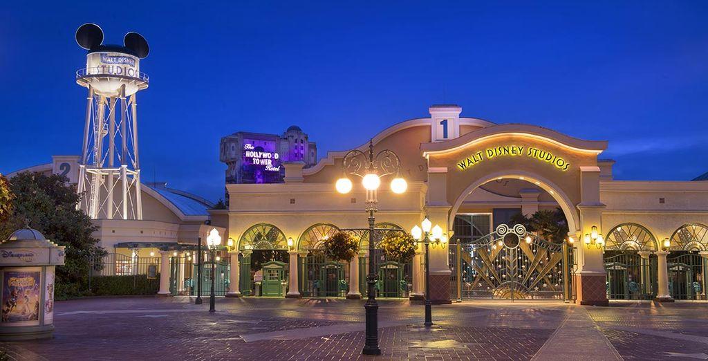 Dans un second temps découvrez les effets spéciaux du parc Walt Disney Studios®