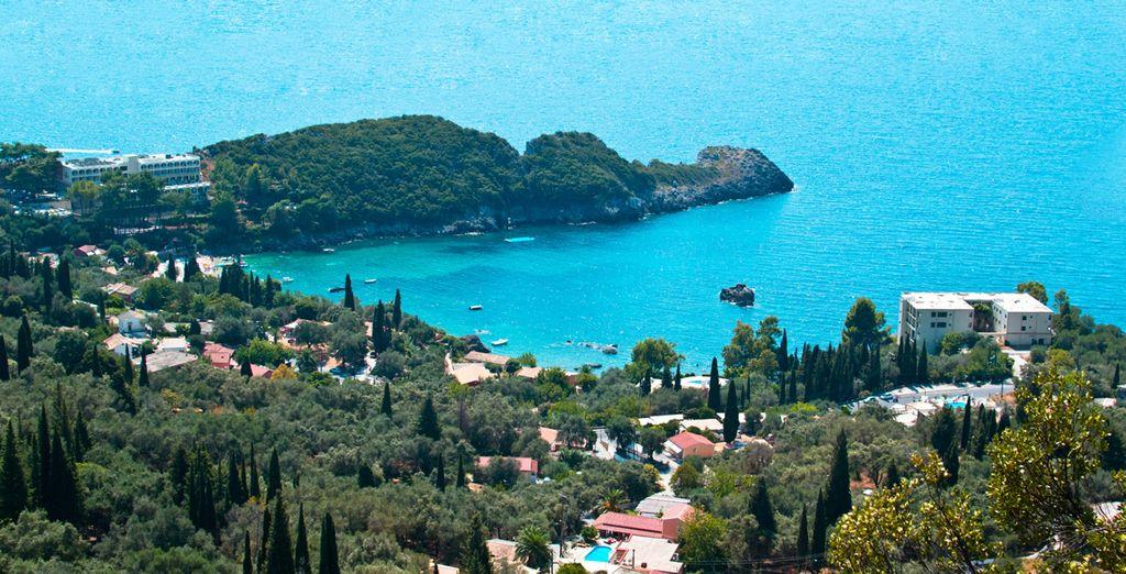 Et la beauté des paysages ioniens