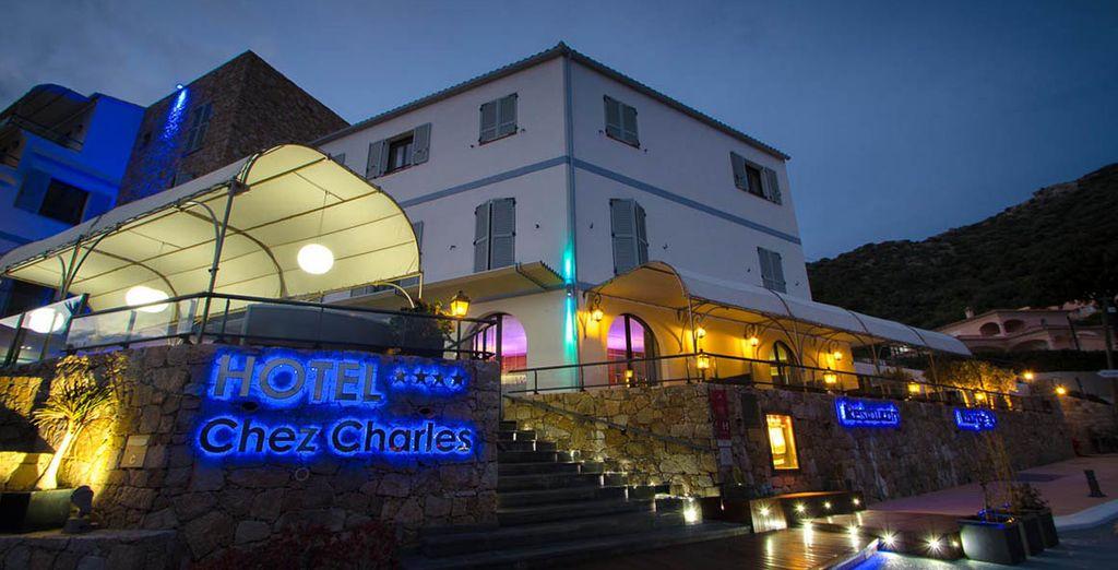 Bienvenue à l'hôtel Chez Charles 4*