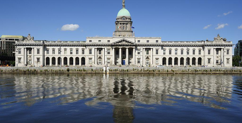 Avant de partir à la découverte de Dublin et de ses somptueux monuments...