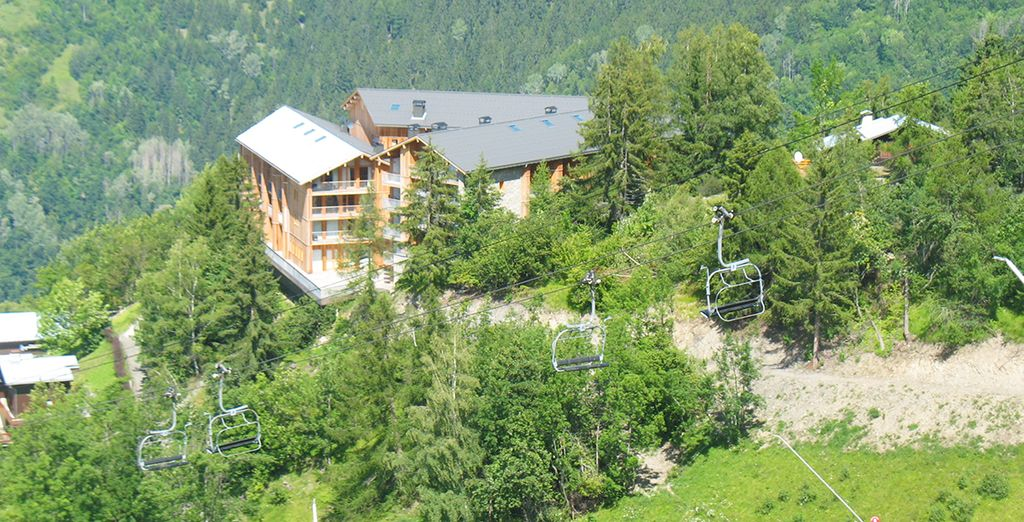 Ressourcez-vous à flanc de montage... - Résidence Lagrange Les 3 Glaciers 4* Chambéry