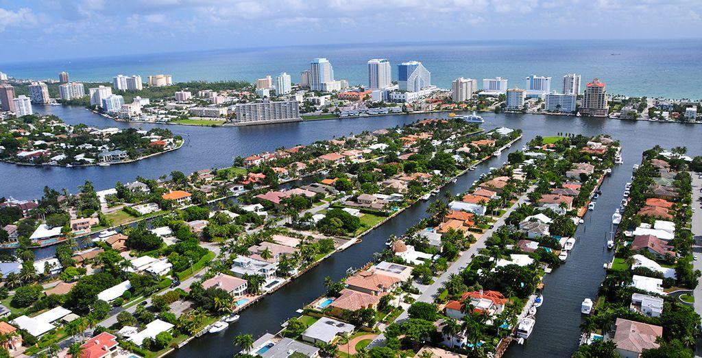 Vous partirez ensuite direction Fort Lauderdale...