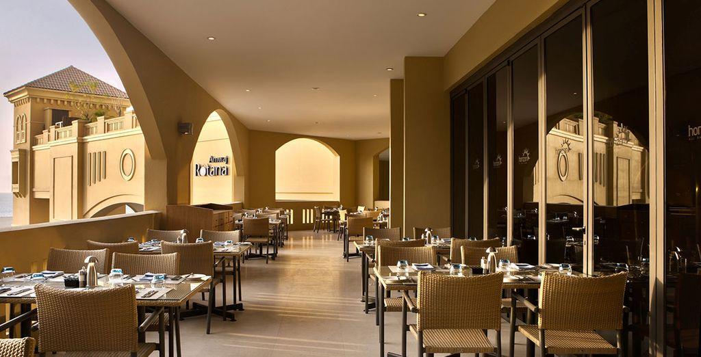 ... Au restaurant Horizon
