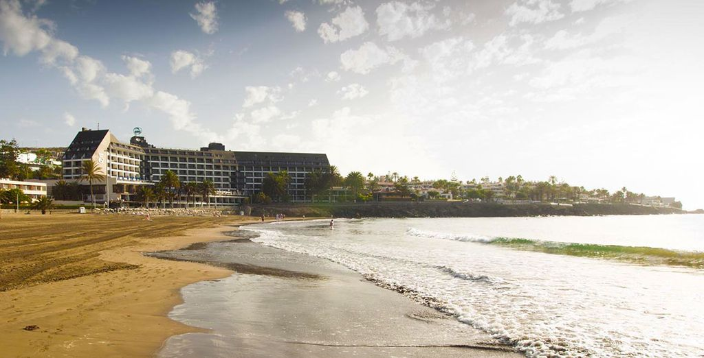 Et la plage jamais très loin...