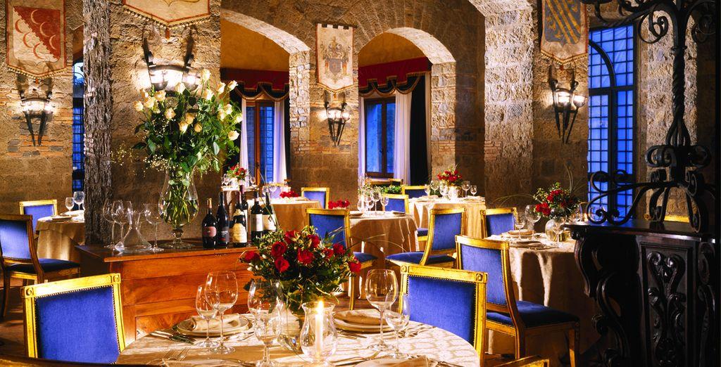 Comme au restaurant la Locanda, où vous dégusterez une délicieuse cuisine méditerranéenne