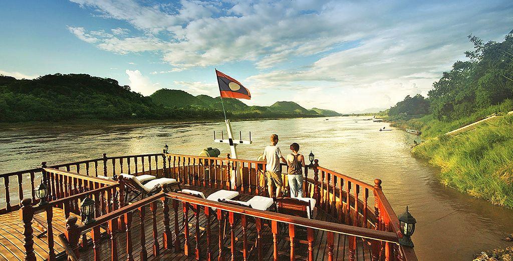 Votre croisière débutera à Vientiane ou à Chiang Rai