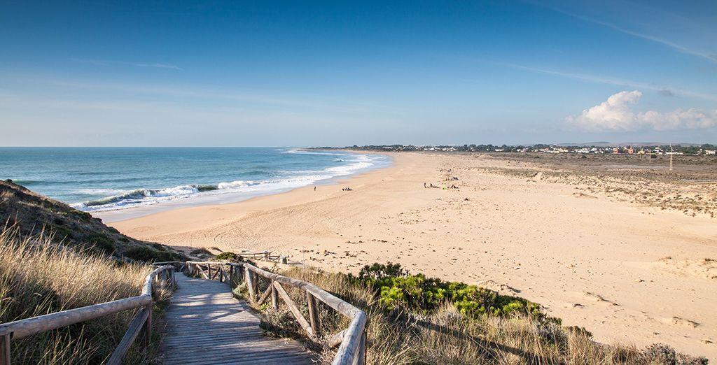 Au sud de l'Espagne, sur la Costa de la Luz ...