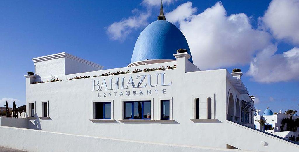 Avant de rejoindre le restaurant Bahiazul...
