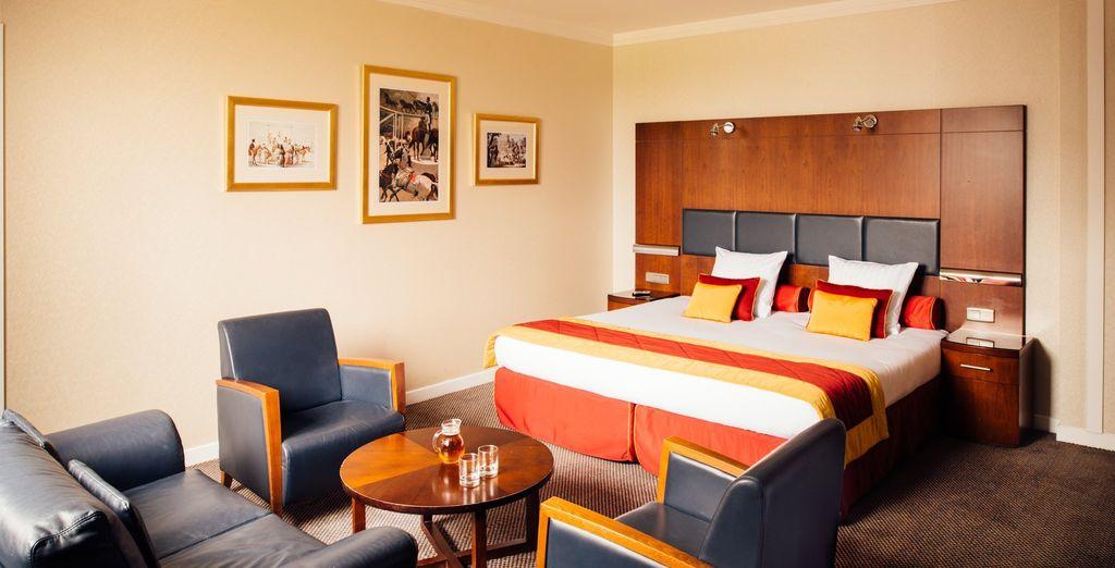 Hôtel de luxe à proximité de Disneyland Paris, design et tout confort, chambre double