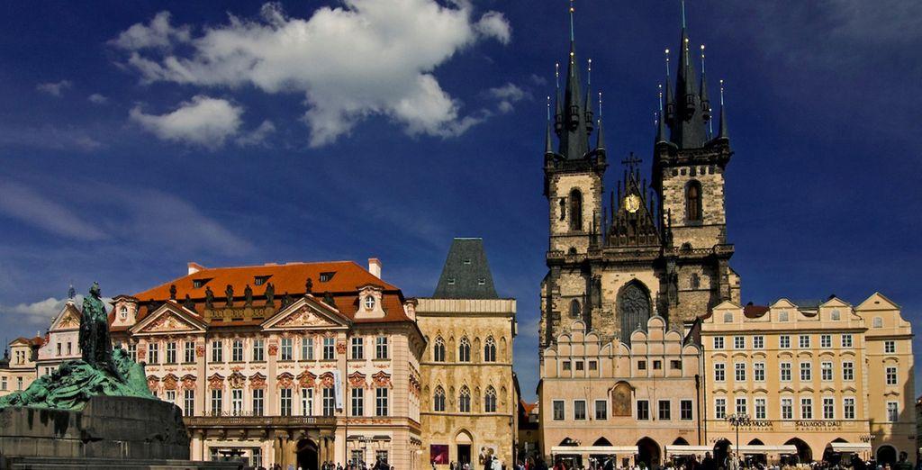 Le Grand tour de Prague ...