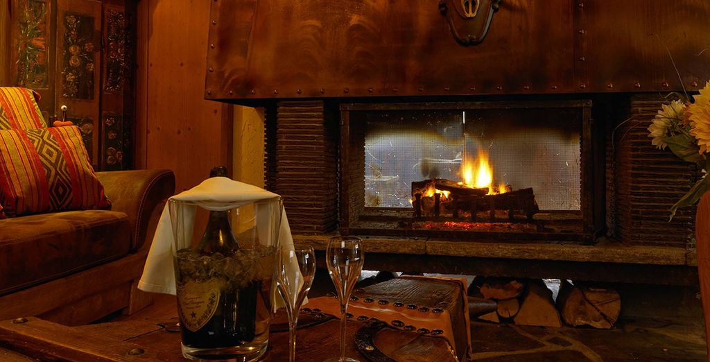 L'hôtel est chaleureux, apaisant, cosy...