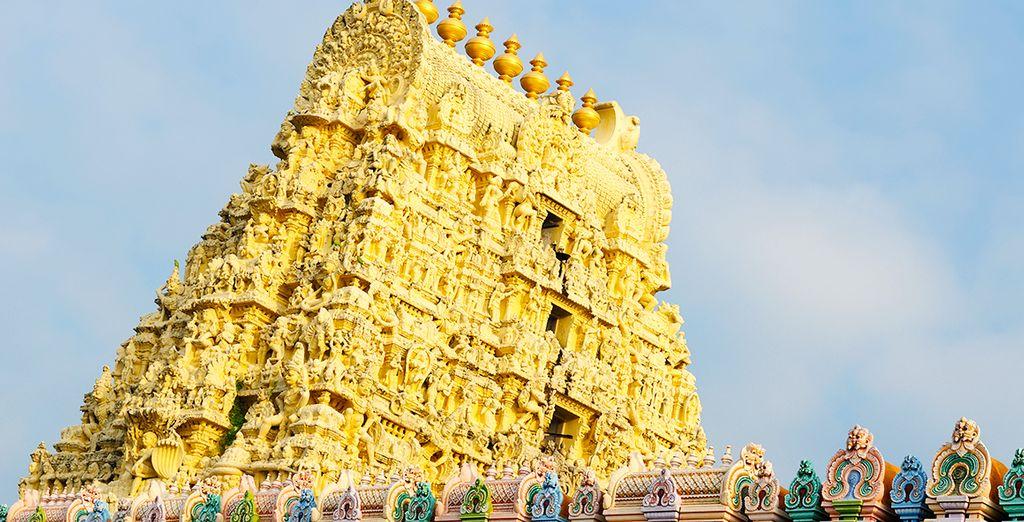 Les plus beaux sites hindouistes du pays s'offrent à vous