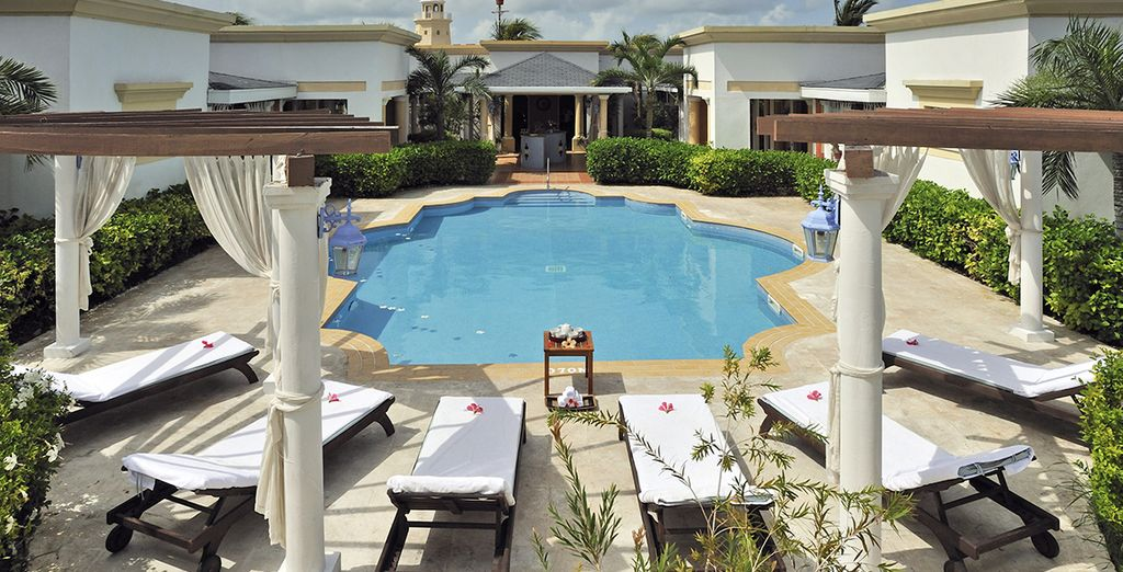 Que diriez-vous de rejoindre la piscine du Spa ?