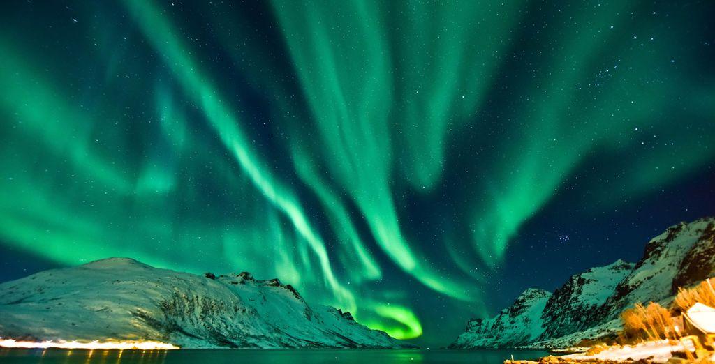 Les aurores boréales de Norvège