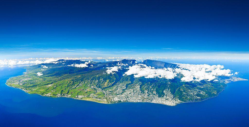 Nous vous emmenons pour un voyage d'exception sur l'île de la Réunion