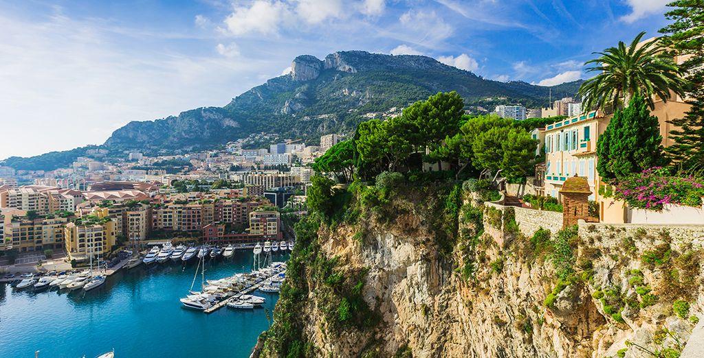 Sur les hauteurs de Monaco
