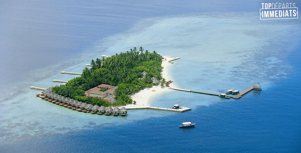 Vivez un rêve éveillé sur l'atoll Felidhu