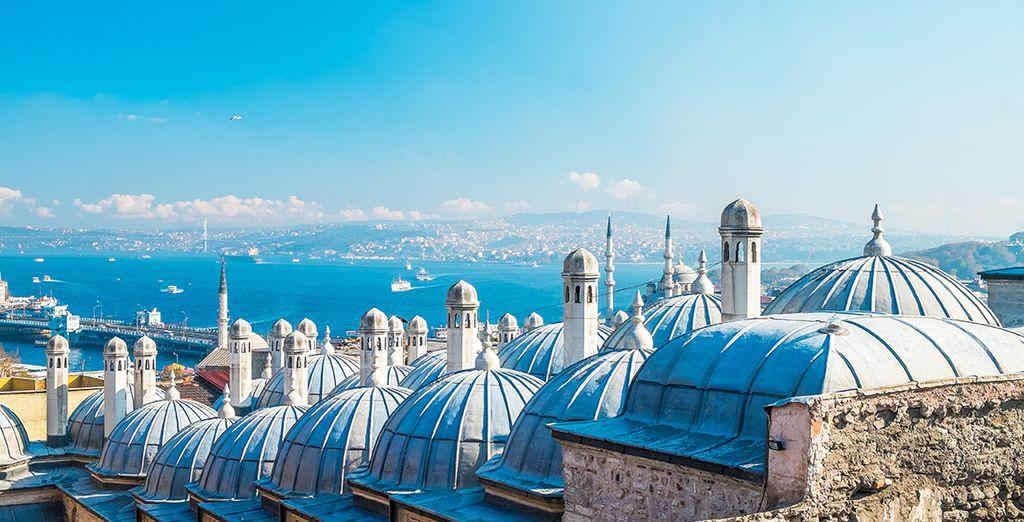 Mettez le cap sur Istanbul