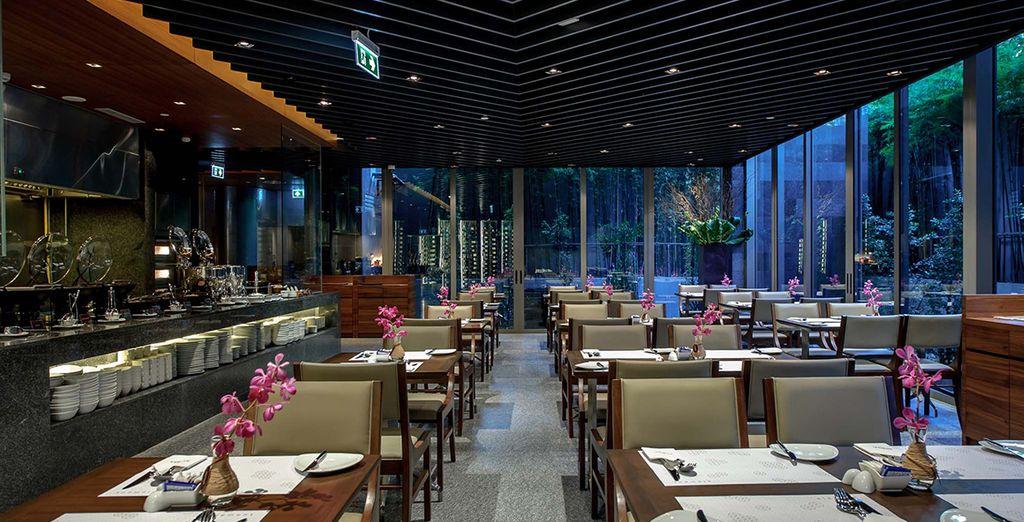 Ainsi qu'un sky bar et un restaurant