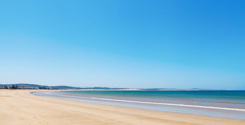 Foulez le sable des belles plages