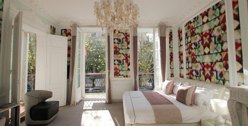 Bordeaux Hotel de luxe 5 étoiles et ses chambres lumineuses