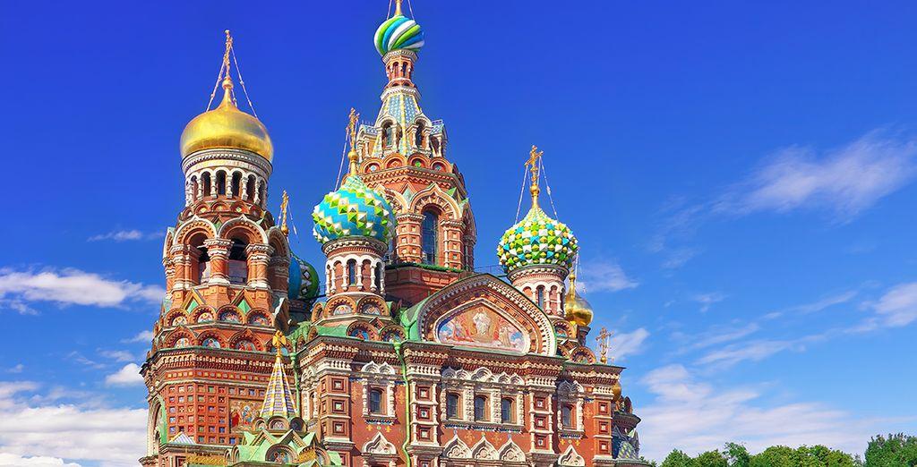 Partez sur les traces des grands Tsars lors d'un extraordinaire voyage...